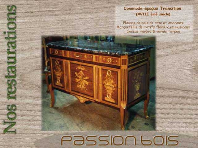 Commode Transition